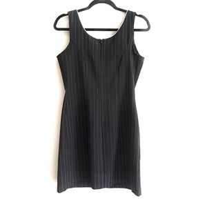 Vintage Dresses - 90s pinstriped dress